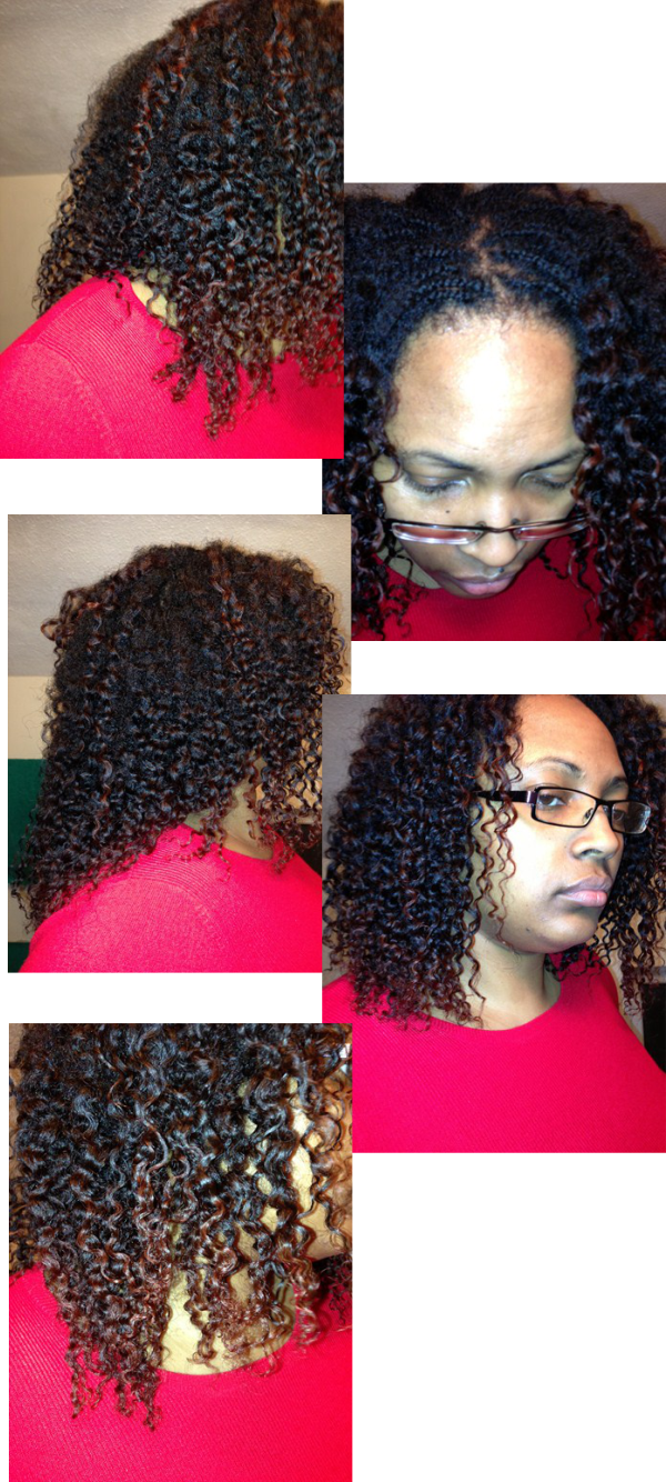 braid out november 2012