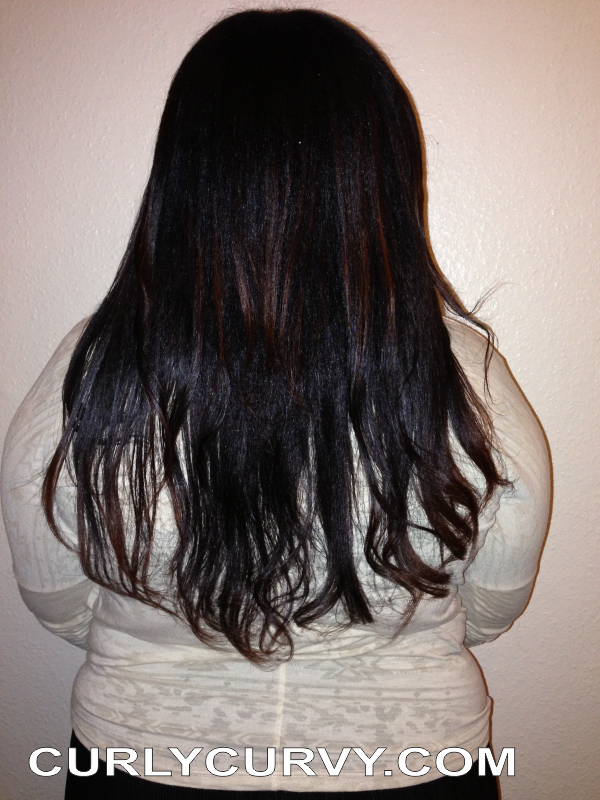 Waist length natural hair December 2012 2