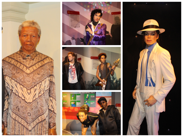 Madame Tussauds Collage